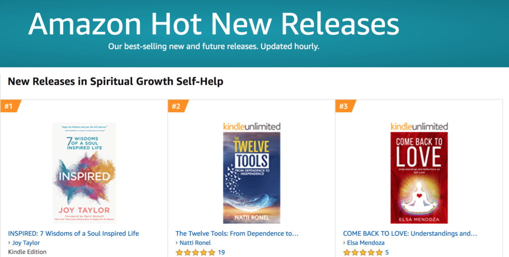 INSPIRED #1 Best-Selling Spiritual Growth Book