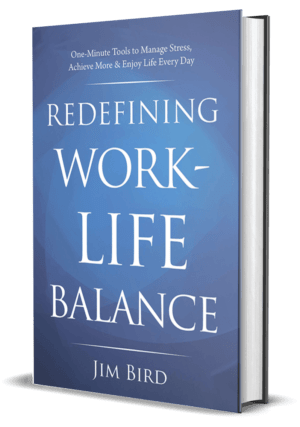 Book Cover Redefining Work Life Balance