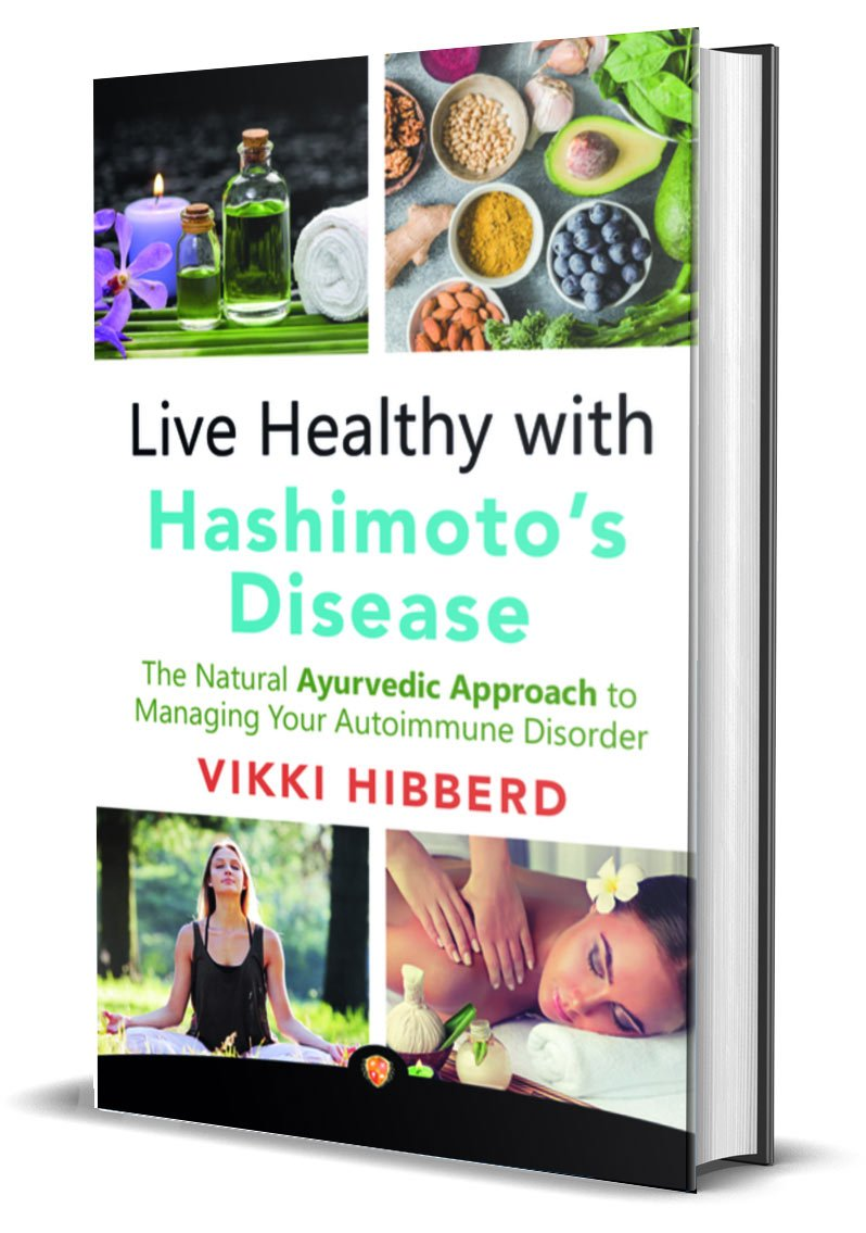 Live Healthy with Hashimoto's Disease Book Cover