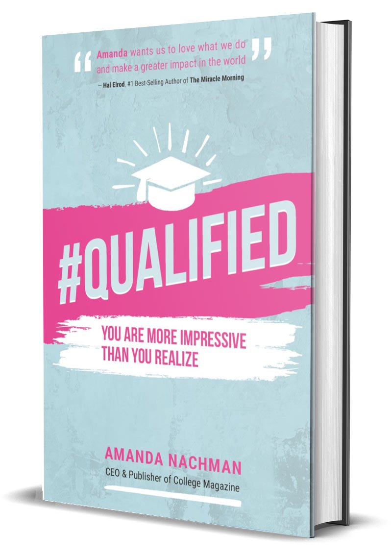 #Qualified Book Cover
