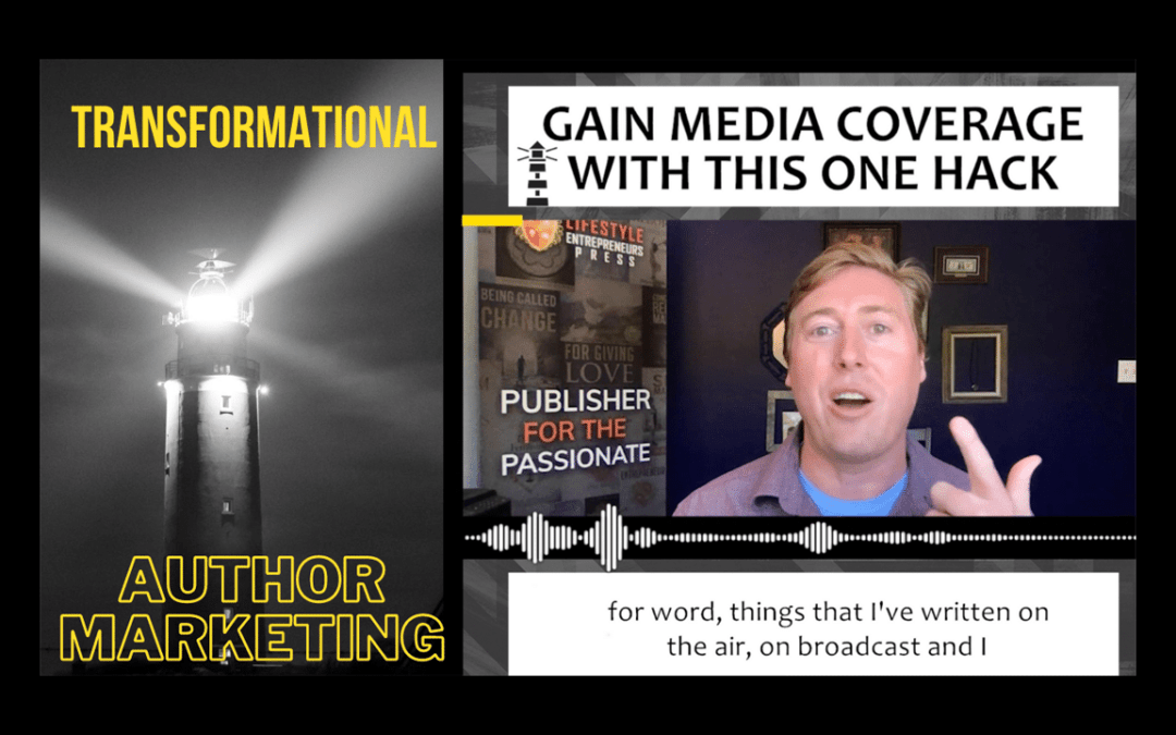 Get Media Coverage With Your Book