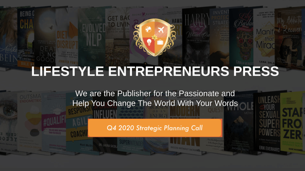 Q4 2020 Strategic Planning Call for LE PRESS Authors