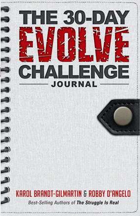 30 Days Evolve Challenge New Book Cover