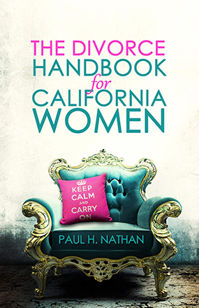 Divorce Handbook for California Women New Book Cover