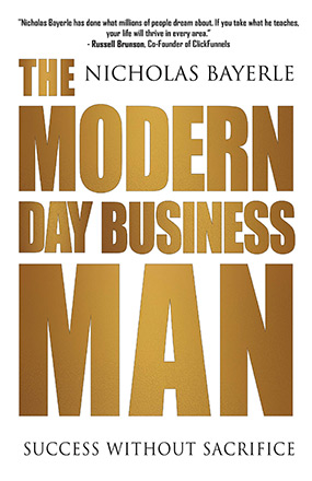 Modern Day Business Man New Book Cover