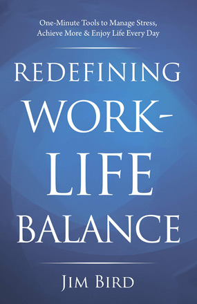Redefining Work Life Balance New Book Cover