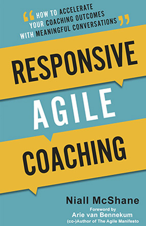 Responsive Agile Coaching New Book Cover