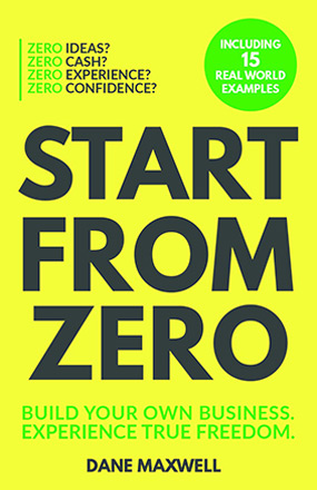 Start from Zero New Book Cover