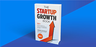 The Startup Growth Book Homepage Promotion