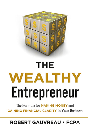The Wealthy Entrepreneur New Book Cover